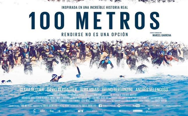 100 metros la película