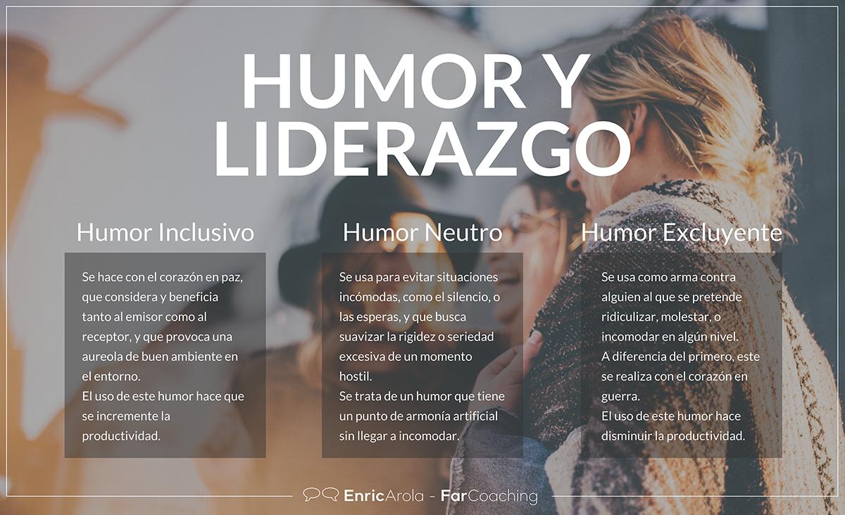 Infografía Humor y liderazgo