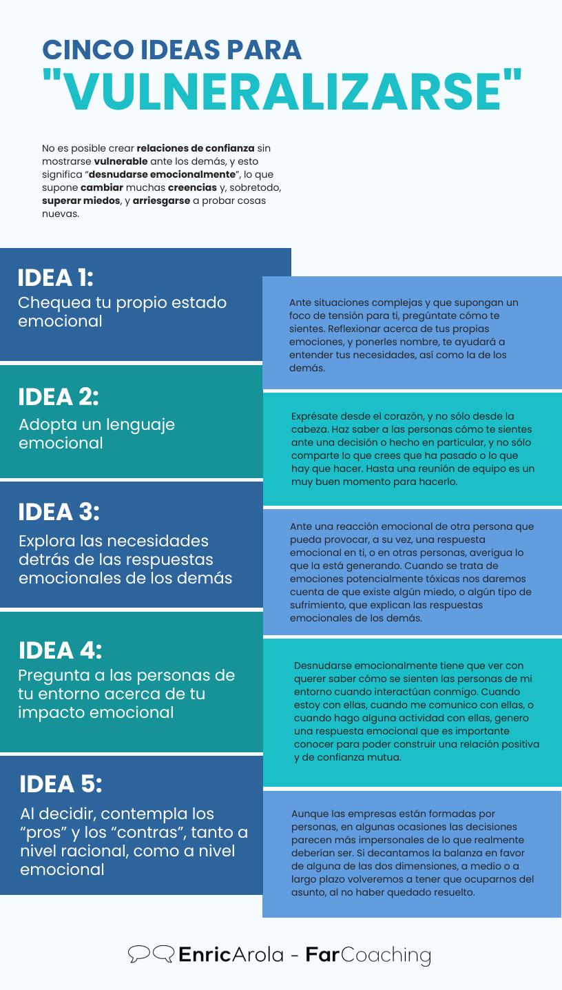 Infografia ideas para vulnerabilizarse